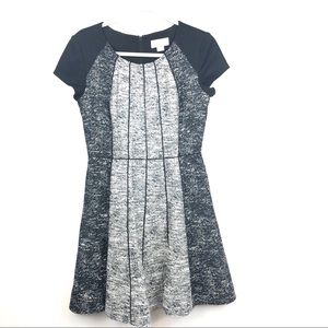 Jessica Simpson Black and Silver Dress Size 6